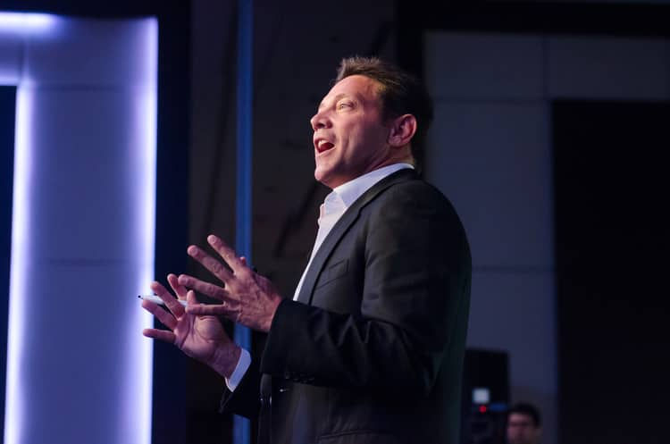 jordan belfort talking about the importance of tonality for sales and communication
