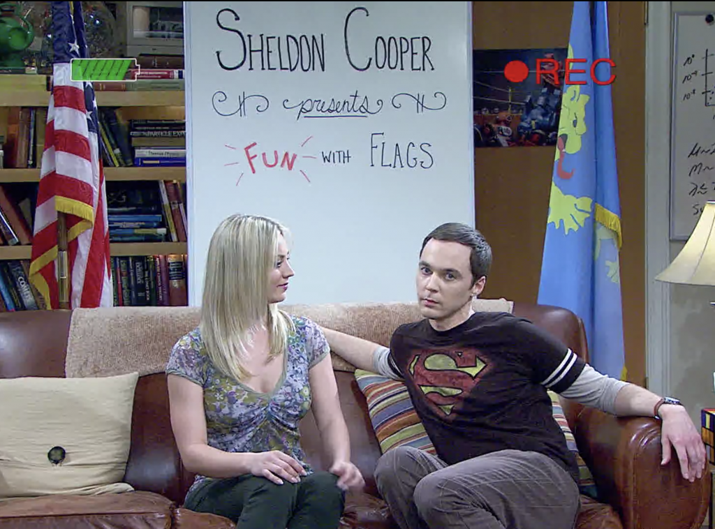 penny from the big bang theory teaching sheldon cooper about body language
