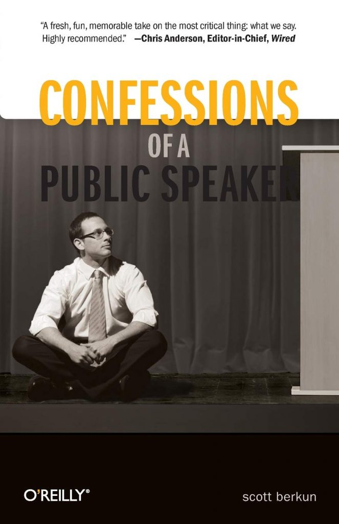 confessions of a public speaker on starting a speech
