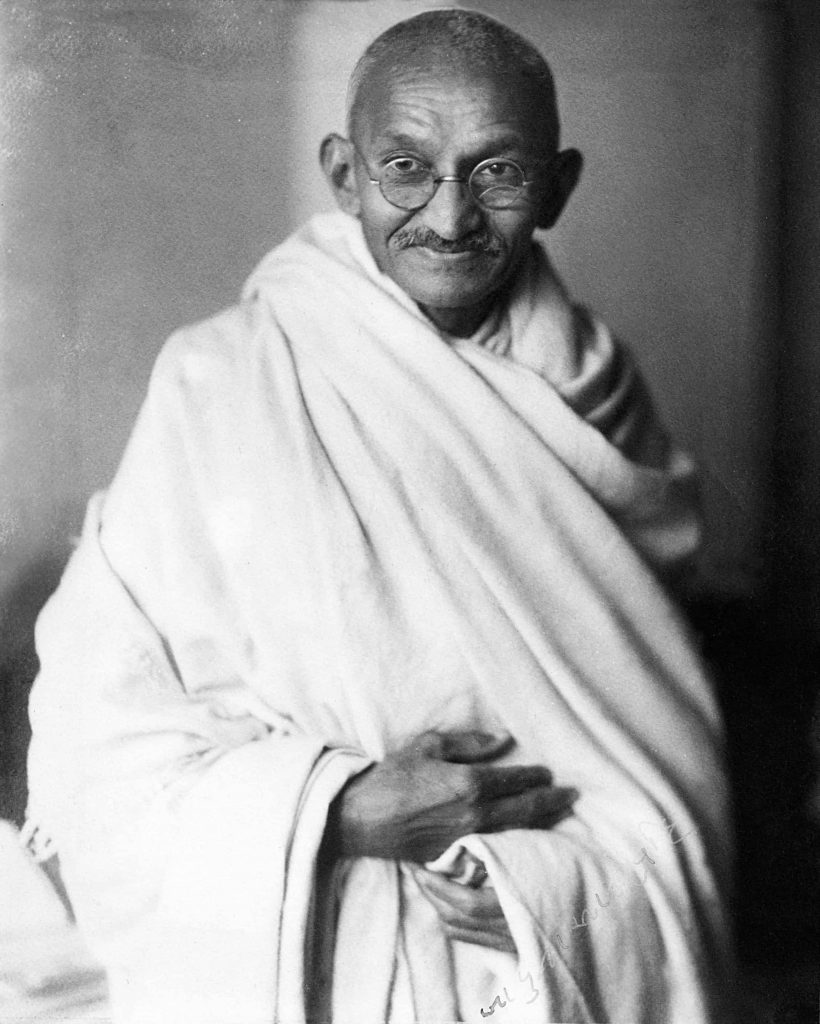 gandhi was an introvert who became a great speaker and leader