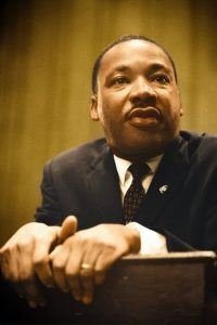 Martin Luther King Jr.'s  'I Have a Dream' speech used poetic devices that added to its legacy.