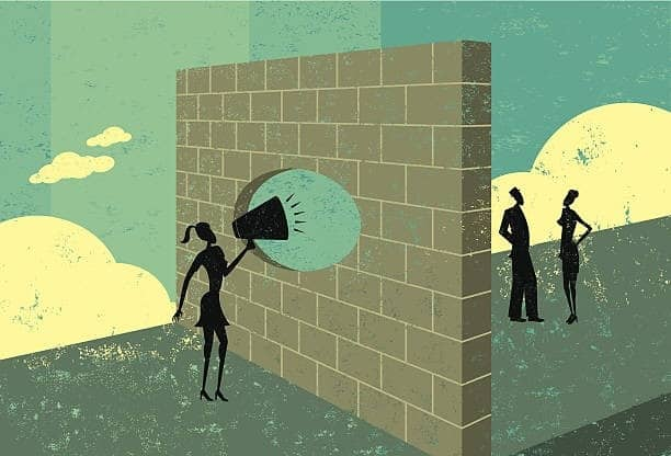breaking through the barrier of communication