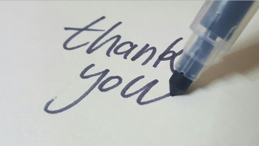 Do not forget to add a thank you slide at the end for excel presentations