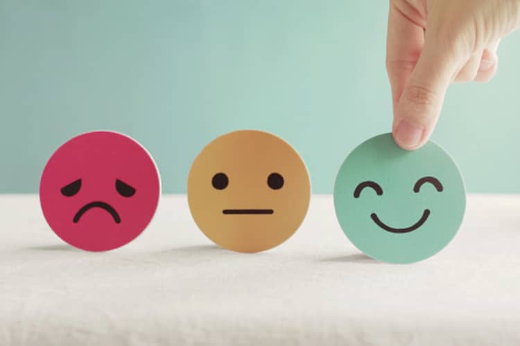 Three possible emotions the audience feels when faced with a rhetorical question.